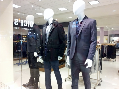 Forever 21 mens display