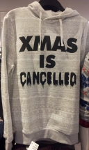 No! Don't say that! *sob* (Spotted at H&M West Towne Mall)