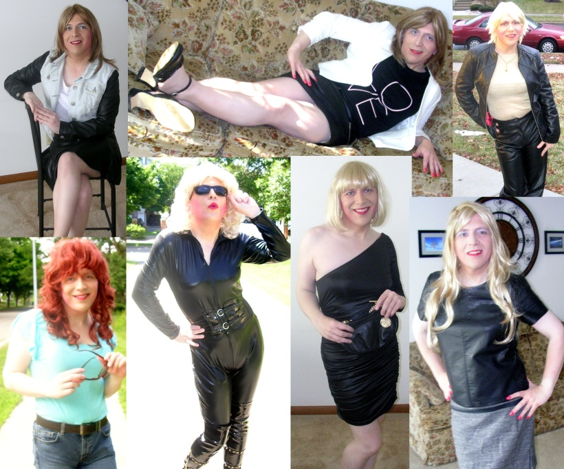 Just a few of the styles I sported for the camera in 2014.