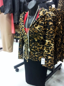 Body Central leopard jacket outfit (12-28-2014)