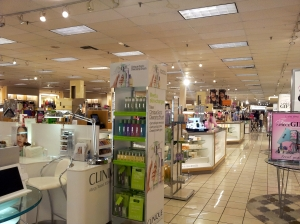 Boston Store cosmetics 3-22-2015