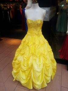 You'll be the belle of the ball in this dress, for certain.