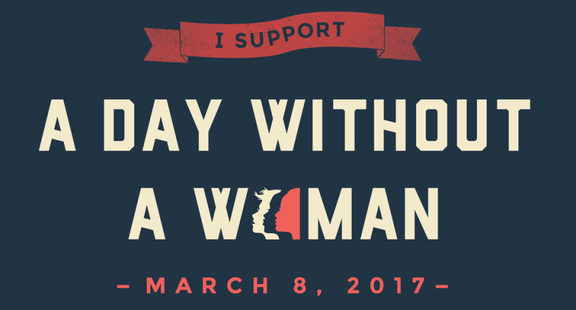 Day Without a Woman banner